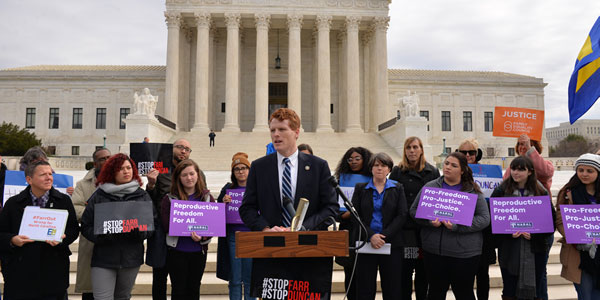 LGBT Groups Rally at Supreme Court Against Trump Nominees ...