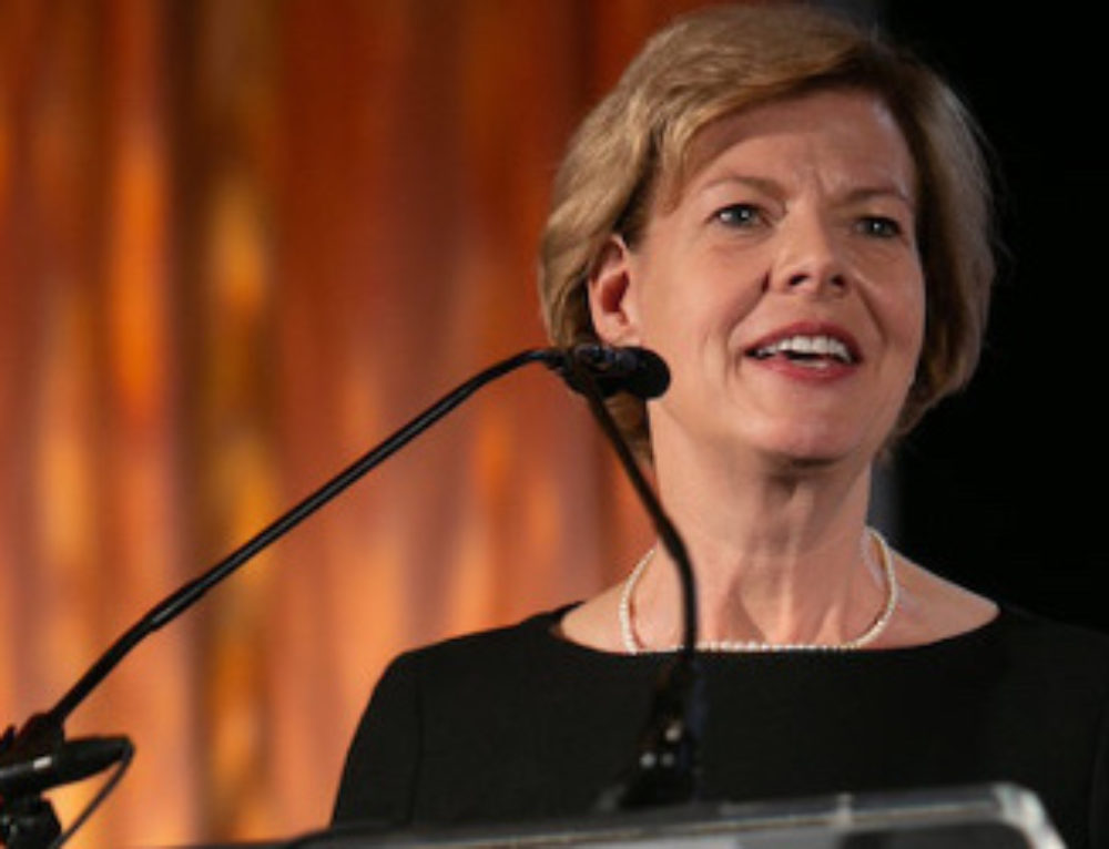 Tammy Baldwin Under Vicious Attack in Re-Election Bid