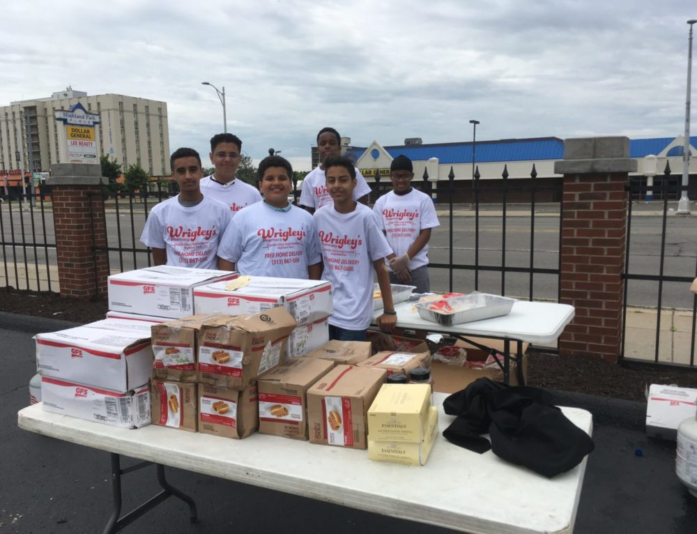 Community Enjoys Free Barbecue Courtesy of Wrigley's Pharmacy