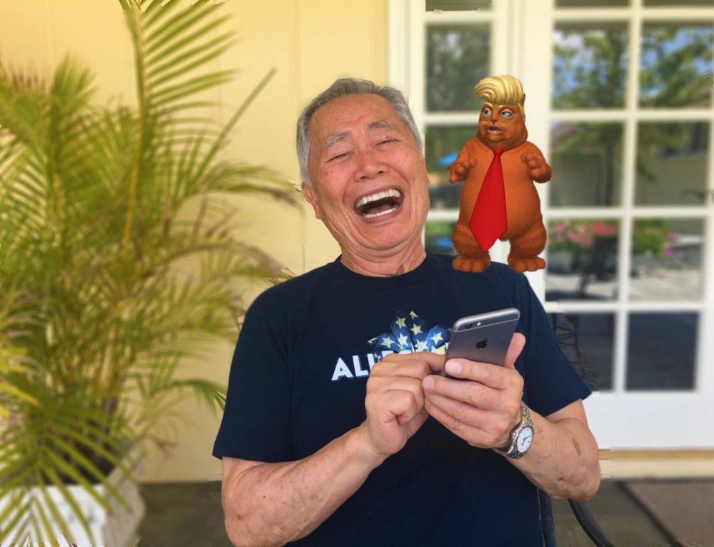 George Takei 'Lampoons' Trump Administration in New House of Cats App