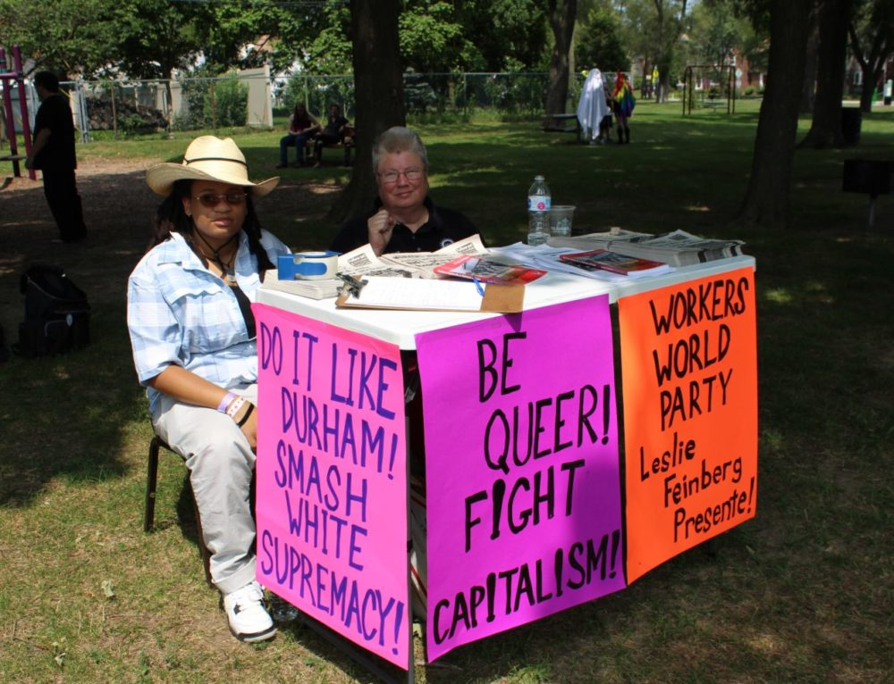 Relaxation and Activism at Trans Pride in the Park