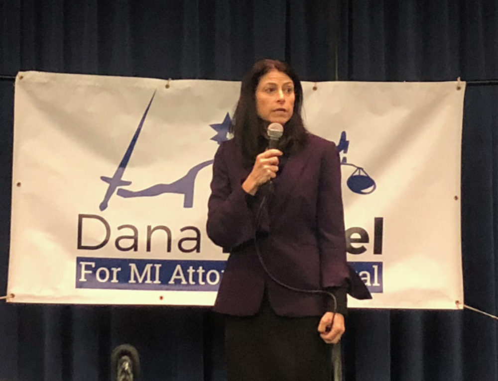 Dana Nessel joined by Dr. Abdul El-Sayed at Dearborn town hall