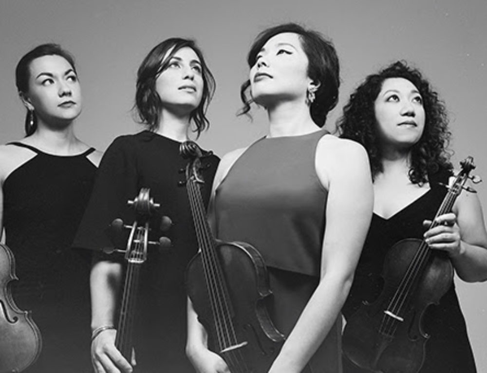 Aizuri Quartet in Ann Arbor Oct. 26