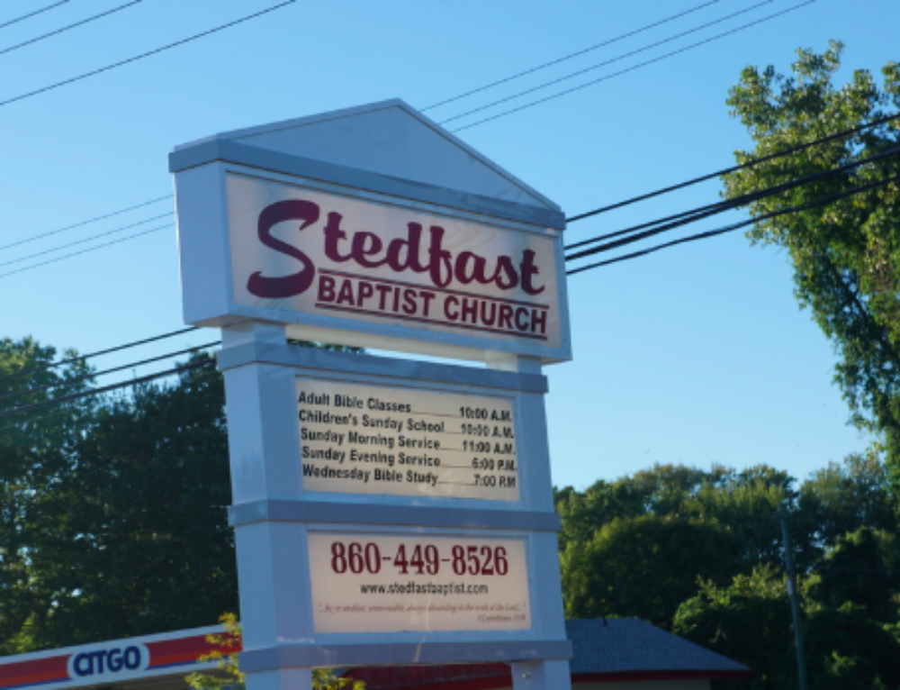 Creep of the Week: Stedfast Baptist Church