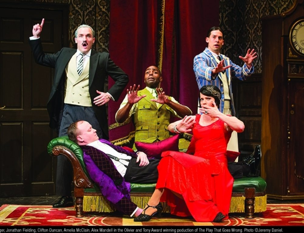 The Play That Goes Wrong at the Fisher Theatre – Win 2 Tickets