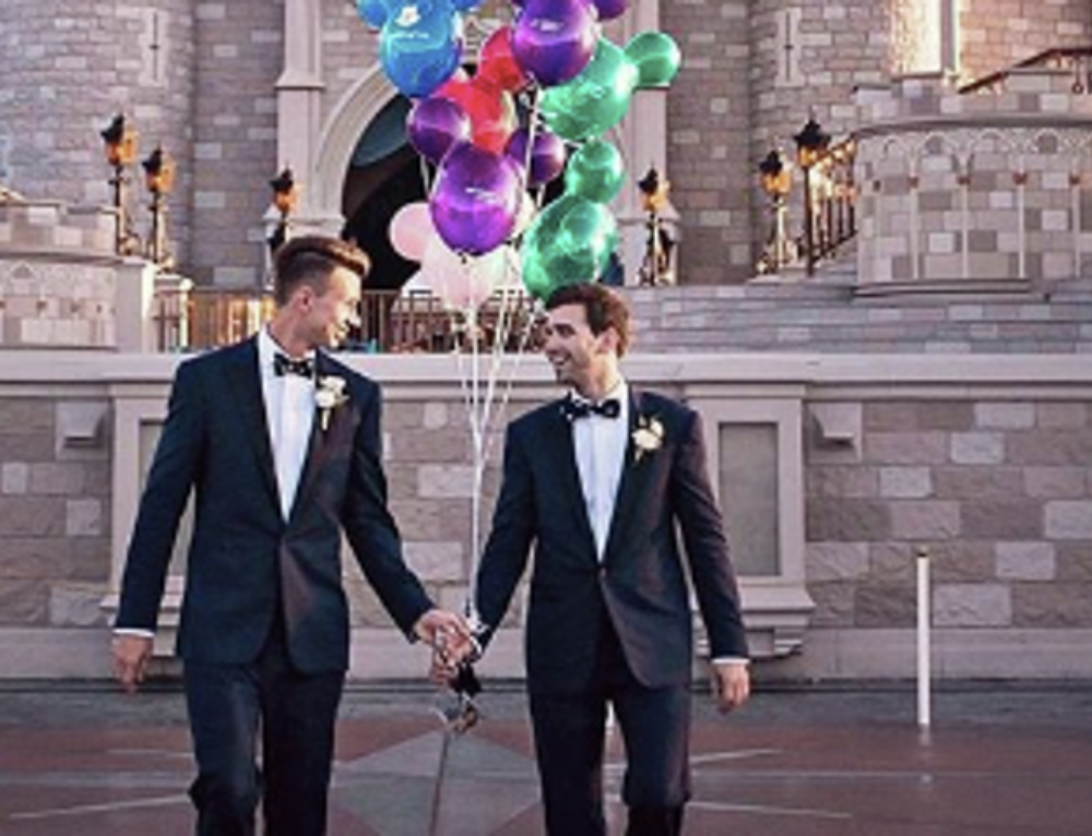 Disney Promotes Same-Sex Wedding and Honeymoon Program on Instagram