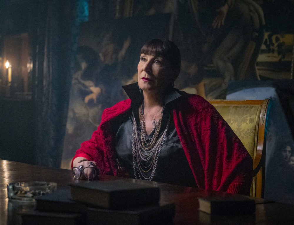Q&A: Anjelica Huston on Speaking Her Truth, Dodging a Gay Pride Penis & Why Morticia Was 'Almost Drag'