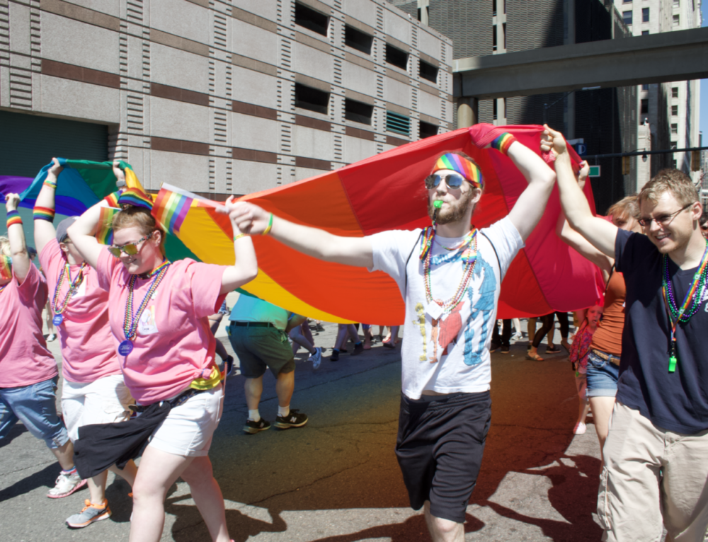 Free Hugs, Fundraisers and Festival Organizers: How Volunteers Make Pride What It Is