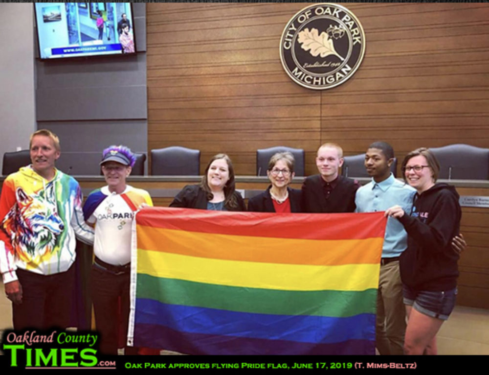 Oak Park Approves Rainbow Flag, Sets Policy for Future Requests