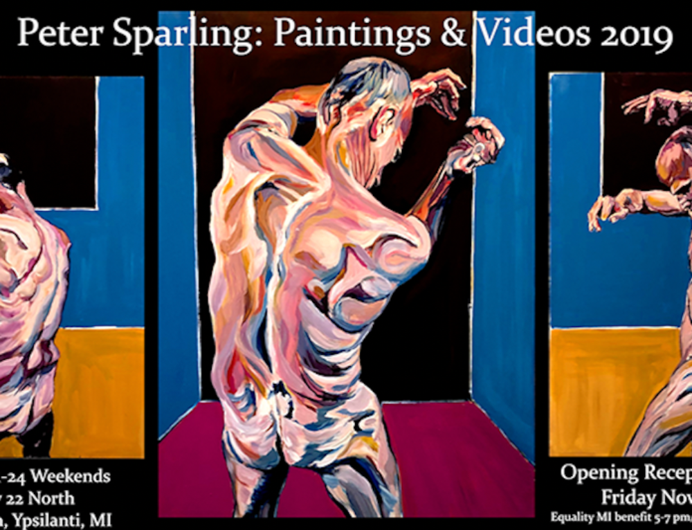 Artist Peter Sparling Partners With Equality Michigan for Upcoming Exhibit