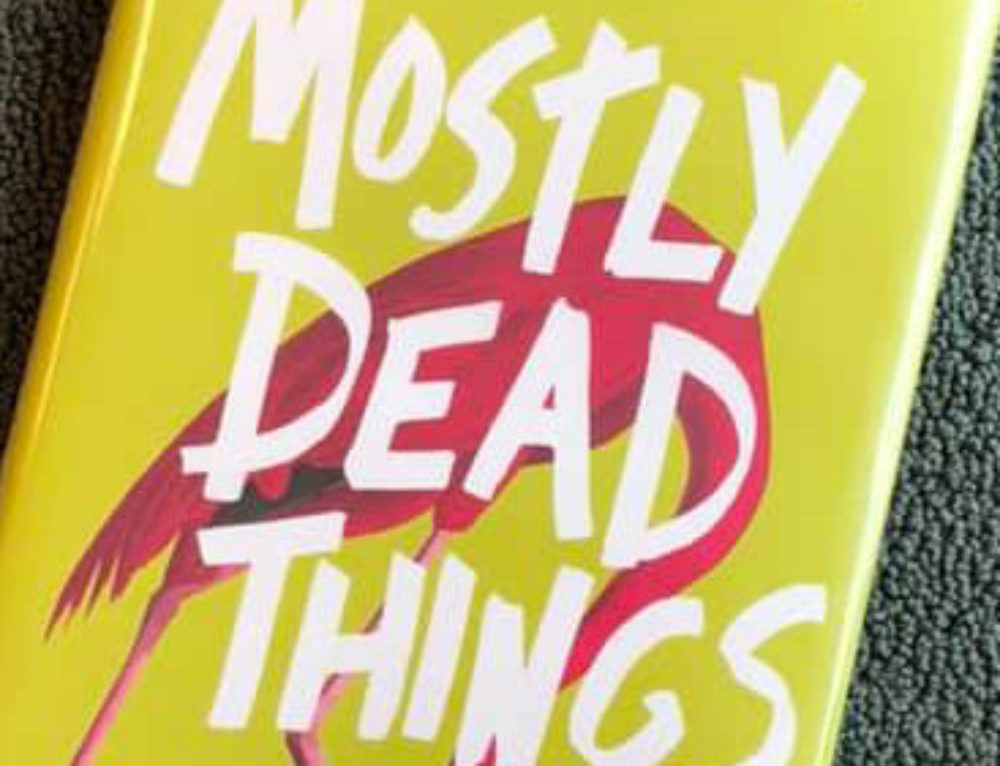 October LezRead: 'Mostly Dead Things'