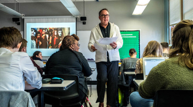 CMU's Queer Fashion Course Draws Students LGBTQ And