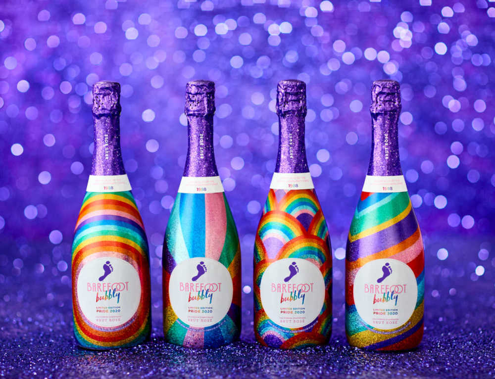 Barefoot Wine Creates Pride-Themed Packaging to Benefit Free Mom Hugs