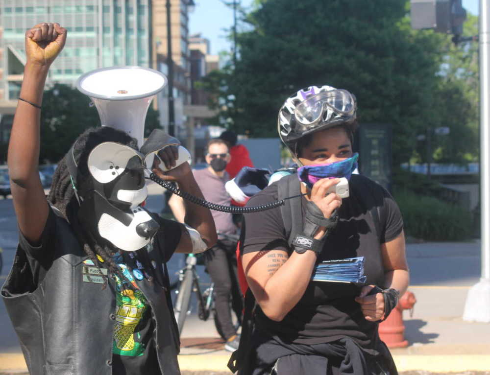 'Our Demands are Simple': LGBTQ-Affirming Police Brutality Protest Held at Detroit Joe Louis Monument
