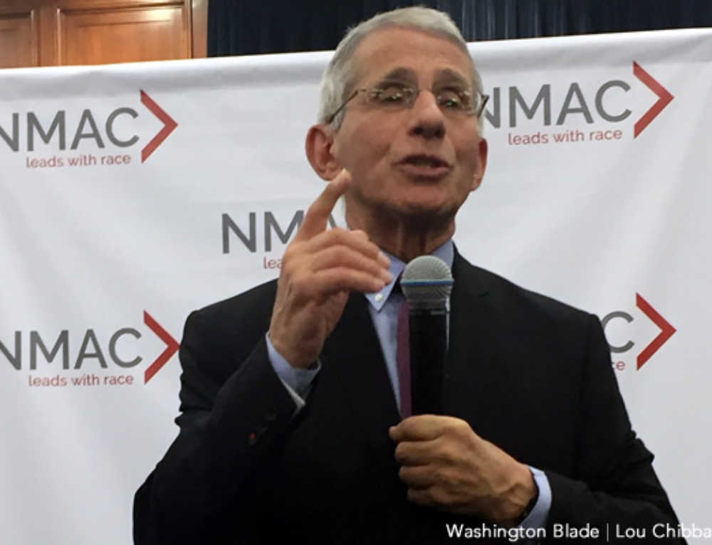 Fauci: No Clear Evidence HIV Heightens Coronavirus Risk