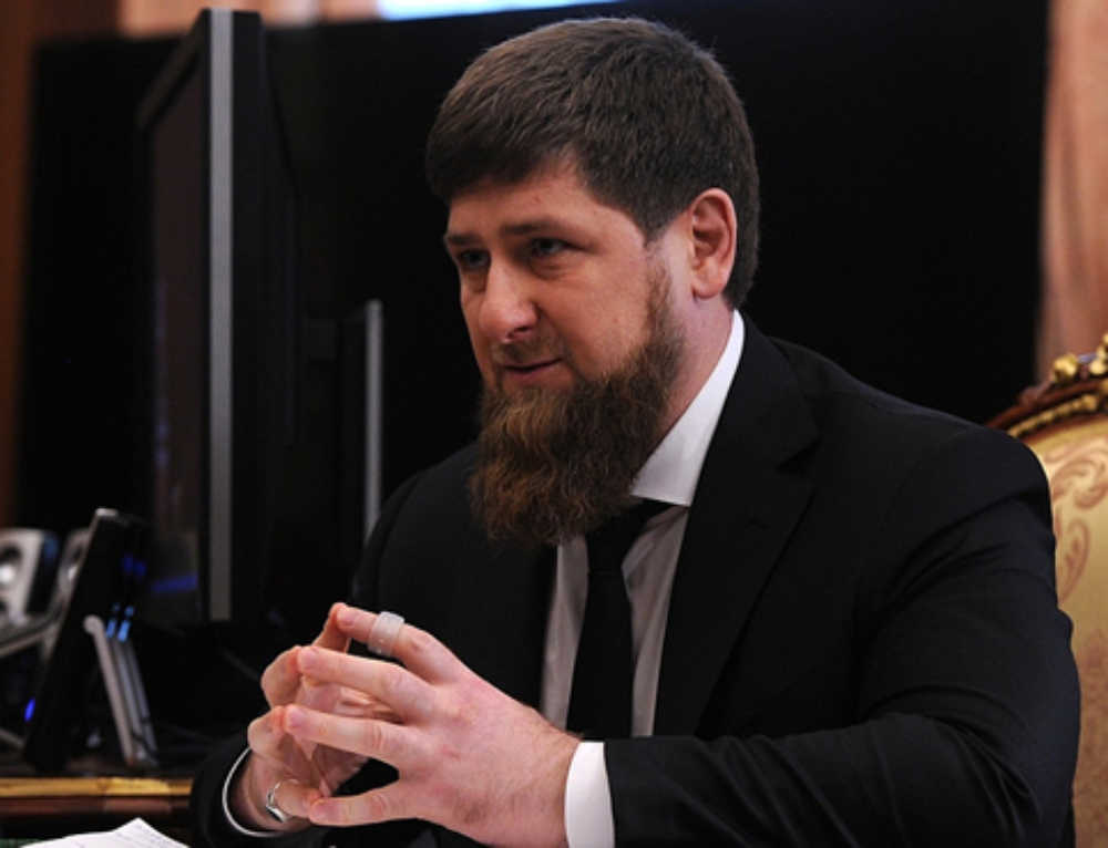 Chechnya President, Family Banned from Traveling to US