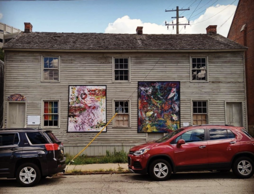 Historical Corktown Workers Rowhouse Showcases Both Detroit History and Modern Art