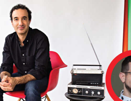 Watch an Exclusive Clip of 'Dolly Parton's America' Host Jad Abumrad in a Sit-Down with Celeb Journalist Chris Azzopardi