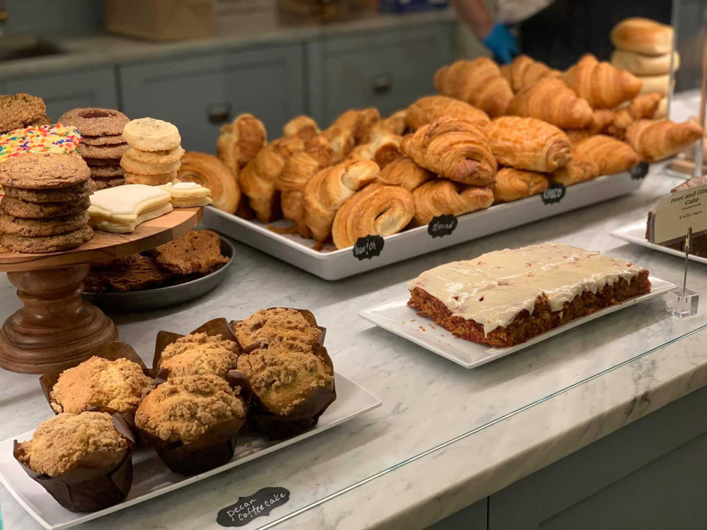 Pastries from Isabel's Market & Eatery.