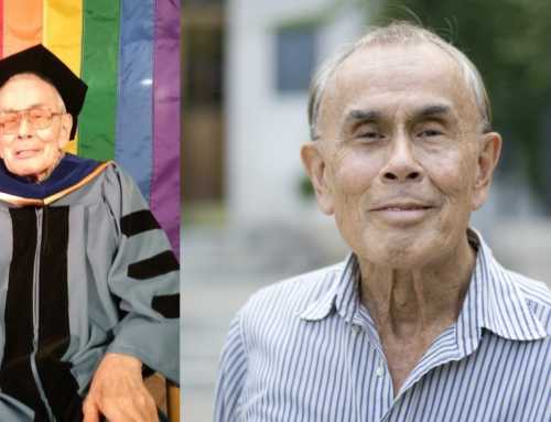 Jim Toy Just Received His Honorary Doctorate from U-M. Here's What the Pioneering LGBTQ+ Activist Told Us.