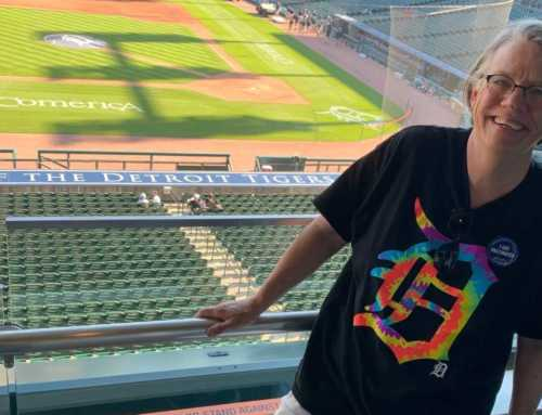 I've Fought for LGBTQ+ Equality for Decades. Then a Dream Came True: I Threw Out the First Pitch at a Detroit Tigers Game.