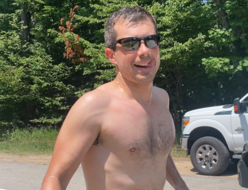 Secretary of the Thirst Trap Pete Buttigieg Brings Joy to the Hearts of Michigan Gays Everywhere While in Traverse City